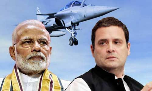 Rahul Gandhi labeled Rafale deal as an open and shut case